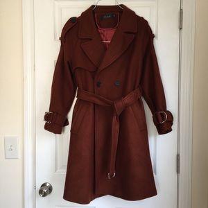 Jackets & Blazers - NWOT Brown trendy wool coat